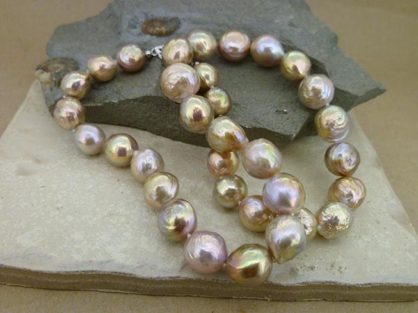 'Kasumi' Nucleated Pearl Necklace